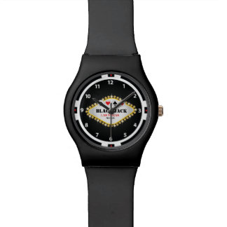 Casino Black Jack Chip Watch