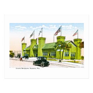 Casino Burgoyne, Daytona, Florida Postcard