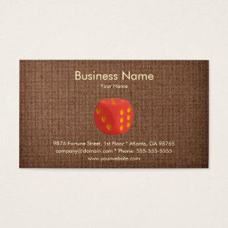 Casino Business Card Template
