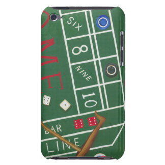 Casino Craps Table with Chips and Dice iPod Touch Case-Mate Case