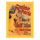 Casino de Paris Vintage Art Poster Postcard