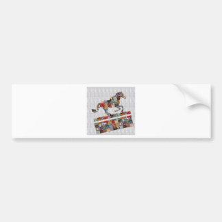 Casino HORSE Race Club Gamble Play NVN490 FUN GIFT Car Bumper Sticker
