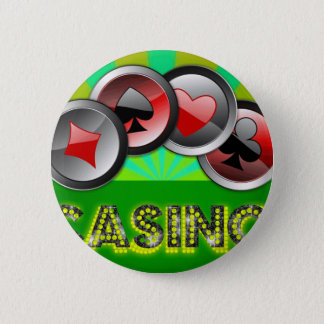 Casino Life 2 Inch Round Button