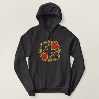 Casino Luck Embroidered Hoodie