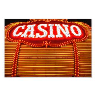 Casino Marquee in Carson City Photo Print