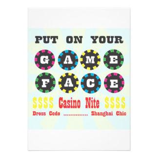 casino night invite.ai
