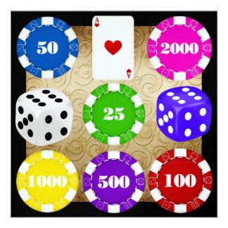 Casino Night - SRF Invitation