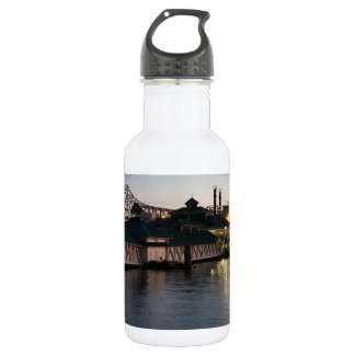 Casino on the Mississippi River Water Bottle