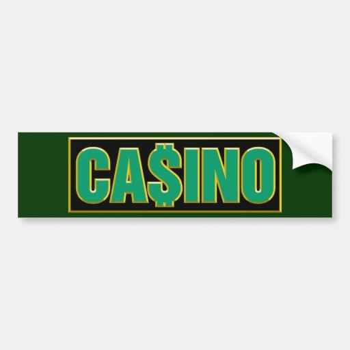 Casino - Play To Win - Gamble Bumper Sticker