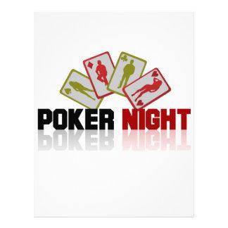 Casino Poker Letterhead