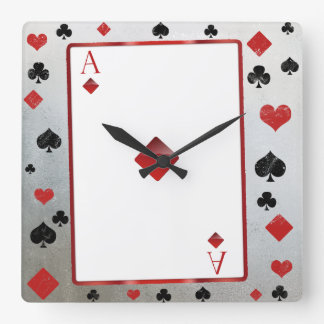 Casino/vegas style clock