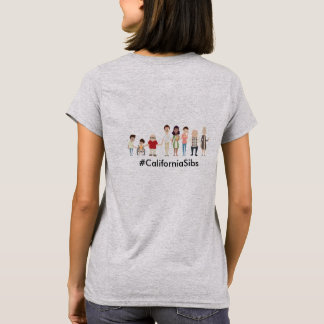 CASLN / CaliforniaSibs women's tshirt