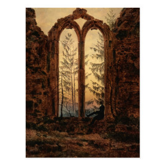 Caspar David Friedrich: The dreamer Postcard