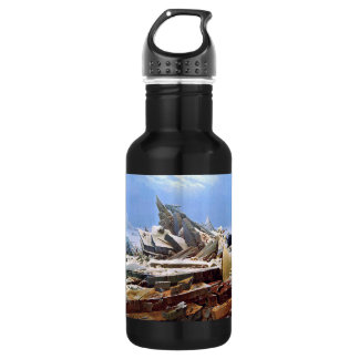 CASPAR DAVID FRIEDRICH - The sea of ice 1824 532 Ml Water Bottle