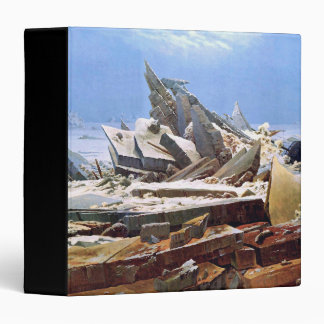 CASPAR DAVID FRIEDRICH - The sea of ice 1824 Binder
