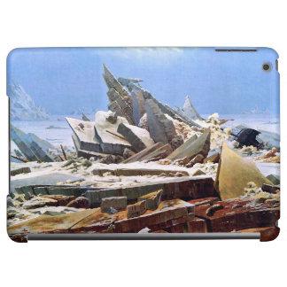 CASPAR DAVID FRIEDRICH - The sea of ice 1824 Cover For iPad Air