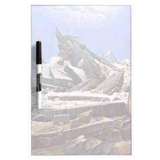 CASPAR DAVID FRIEDRICH - The sea of ice 1824 Dry Erase Board