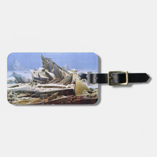 CASPAR DAVID FRIEDRICH - The sea of ice 1824 Luggage Tag