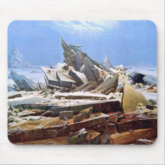 CASPAR DAVID FRIEDRICH - The sea of ice 1824 Mouse Pad