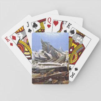 CASPAR DAVID FRIEDRICH - The sea of ice 1824 Playing Cards