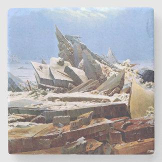 CASPAR DAVID FRIEDRICH - The sea of ice 1824 Stone Coaster