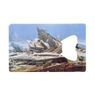 CASPAR DAVID FRIEDRICH - The sea of ice 1824 Wallet Bottle Opener