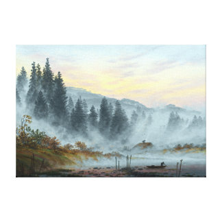 Caspar David Friedrich The Times of Day Morning Canvas Print