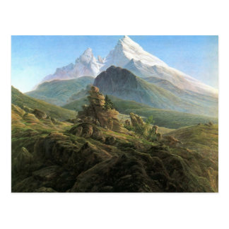 Caspar David Friedrich- The Watzmann Postcard