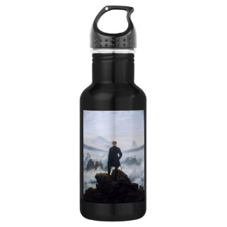 CASPAR DAVID FRIEDRICH - Wanderer above the sea 532 Ml Water Bottle