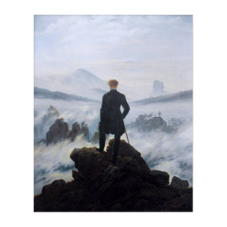 CASPAR DAVID FRIEDRICH - Wanderer above the sea Acrylic Print