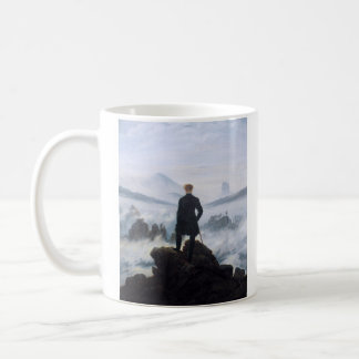 CASPAR DAVID FRIEDRICH - Wanderer above the sea Coffee Mug