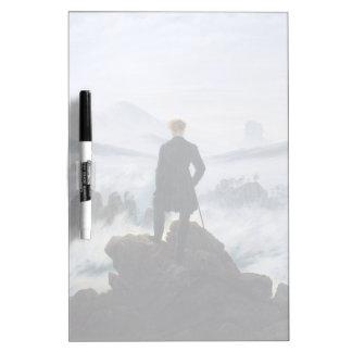 CASPAR DAVID FRIEDRICH - Wanderer above the sea Dry Erase Board