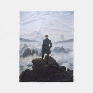 CASPAR DAVID FRIEDRICH - Wanderer above the sea Fleece Blanket