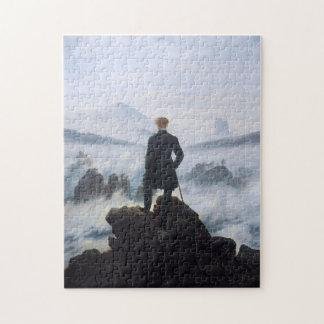 CASPAR DAVID FRIEDRICH - Wanderer above the sea Jigsaw Puzzle