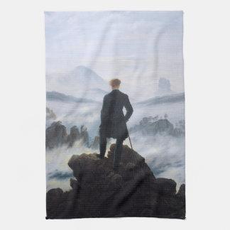 CASPAR DAVID FRIEDRICH - Wanderer above the sea Kitchen Towel