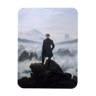 CASPAR DAVID FRIEDRICH - Wanderer above the sea Magnet