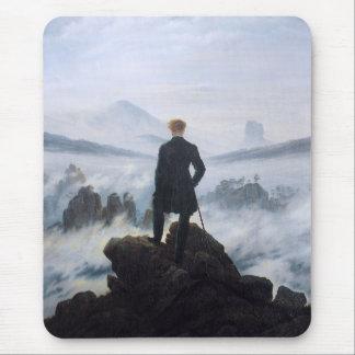 CASPAR DAVID FRIEDRICH - Wanderer above the sea Mouse Pad