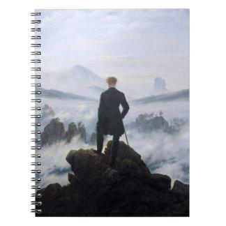 CASPAR DAVID FRIEDRICH - Wanderer above the sea Notebook