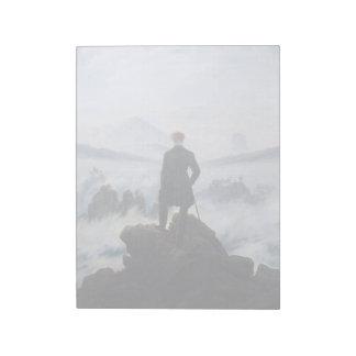 CASPAR DAVID FRIEDRICH - Wanderer above the sea Notepad
