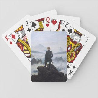 CASPAR DAVID FRIEDRICH - Wanderer above the sea Playing Cards