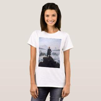 CASPAR DAVID FRIEDRICH - Wanderer above the sea T-Shirt