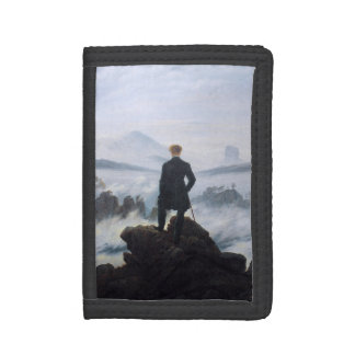 CASPAR DAVID FRIEDRICH - Wanderer above the sea Trifold Wallets