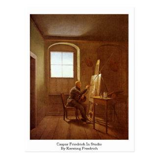 Caspar Friedrich In Studio By Kersting Friedrich Postcard