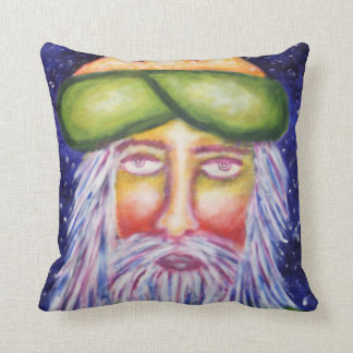 """Caspar"" Three Kings Christmas Art Throw Pillow"