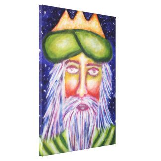 Caspar (Three Kings) Holiday Art Canvas Print