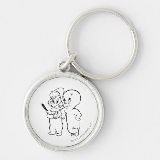 Casper and Wendy Keychain