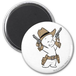 Casper Cowboy Magnet