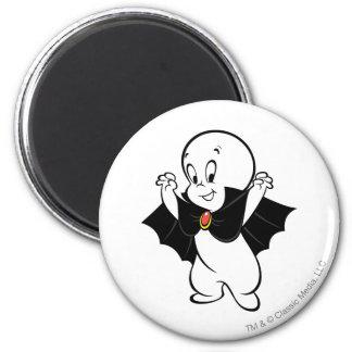 Casper Dracula Costume 2 Inch Round Magnet