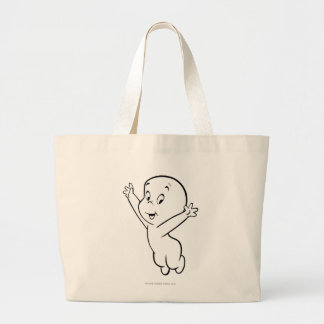 Casper Flying Pose 3 Large Tote Bag