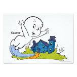 "Casper Haunted House 5"" X 7"" Invitation Card"